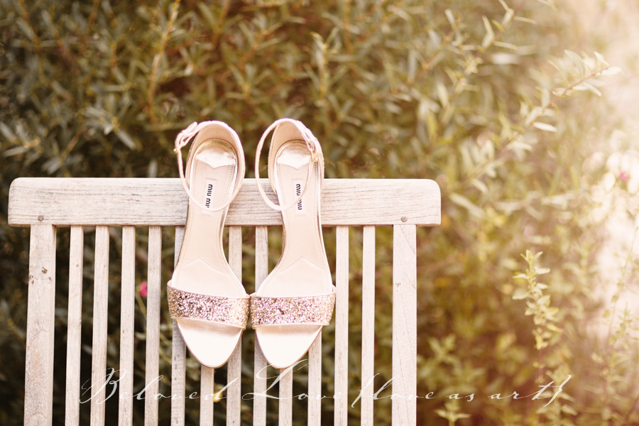 provence wedding photography 10 Top Shoe Tips For Your Wedding Day glitter miu miu heels © beloved love photography #loveasart