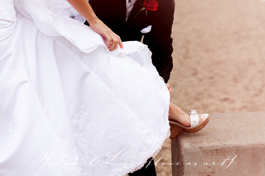 wedding photography saint tropez 10 Top Shoe Tips For Your Wedding Day glitter miu miu heels © beloved love photography #loveasart