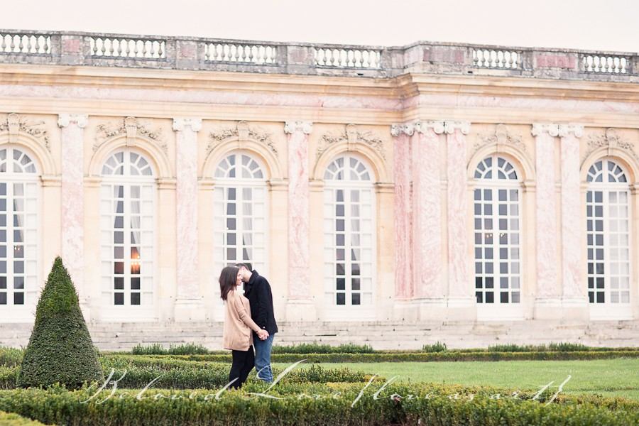 paris wedding photography Le Grand Trianon © beloved love photography #loveasart