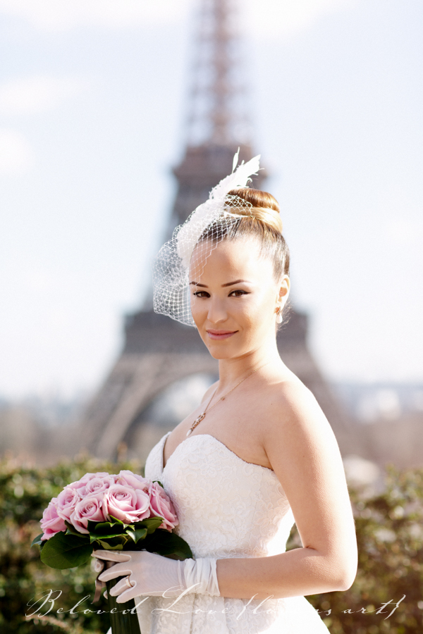 Paris elopement wedding photography trocadero © beloved love photography #loveasart