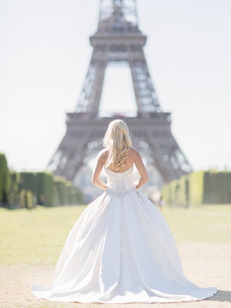 Eiffel Tower Bride