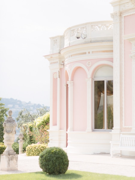 French Riviera Engagement Photographer Rothschild Villa