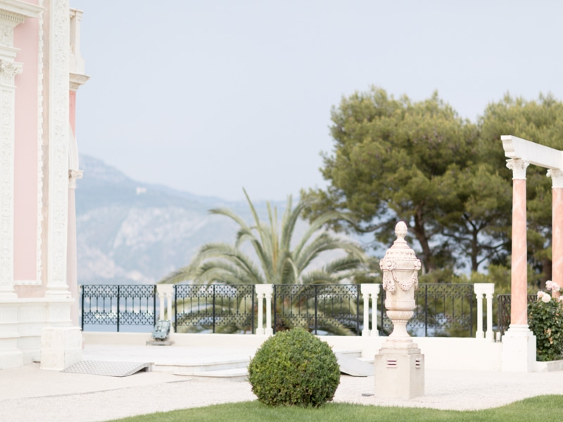 French Riviera Landscape Photographer Rothschild Villa