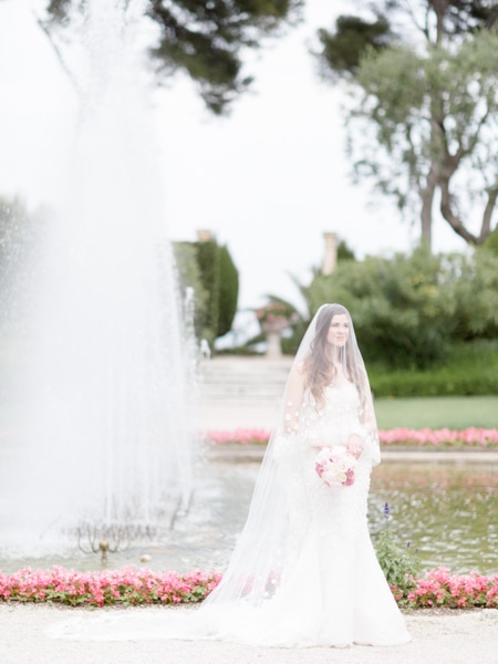 French Riviera Wedding Photographer Rothschild Villa Garden