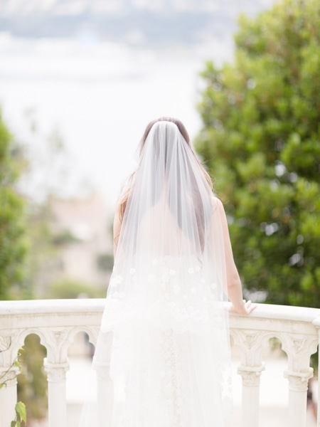 French Riviera Wedding Photographer Rothschild Villa Sea