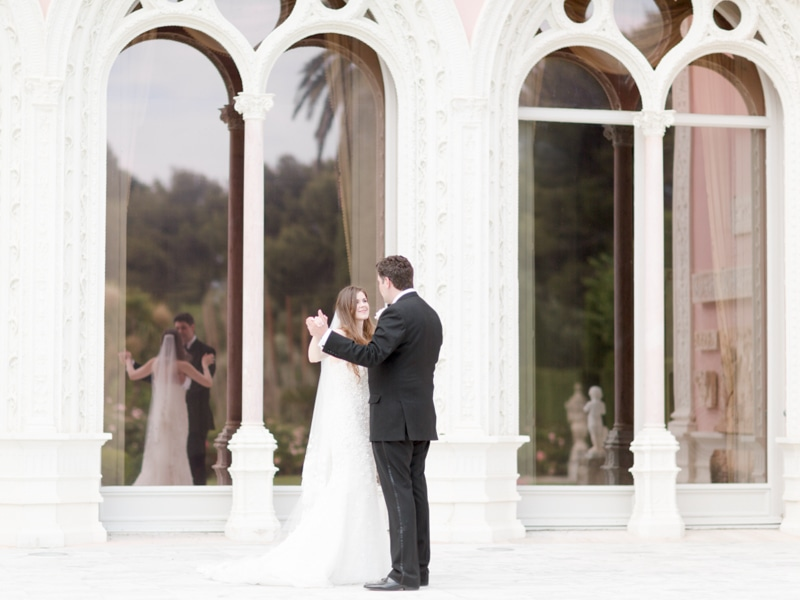 French Riviera Wedding Photographer Rothschild Villa