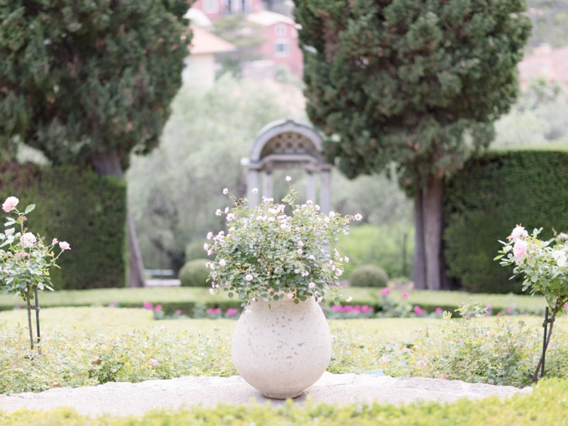Villa Ephrussi De Rothschild Garden Wedding French Riviera