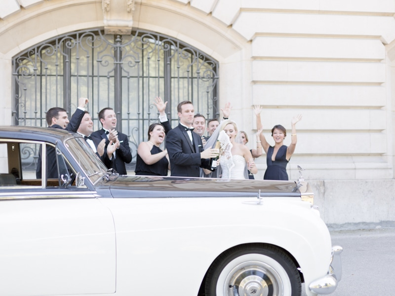 Vintage Car Wedding Photographer Paris